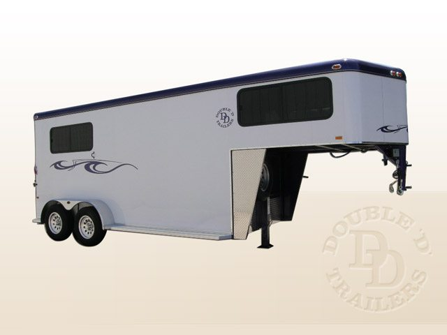Safetack Two (2) Horse Gooseneck Trailer 001