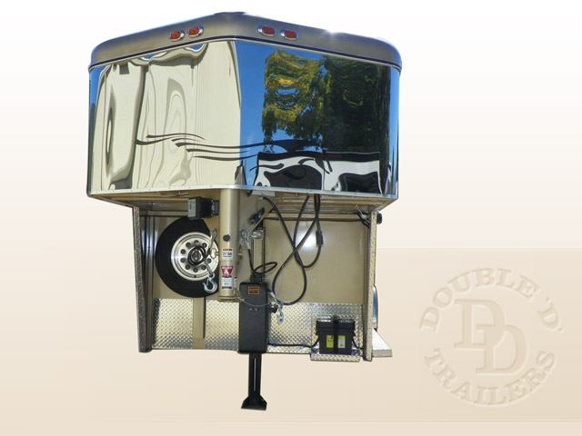 Safetack Two (2) Horse Gooseneck Trailer 008