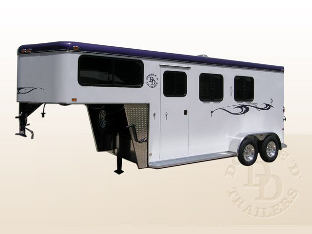 Safetack Two (2) Horse Gooseneck Trailer 9089-012