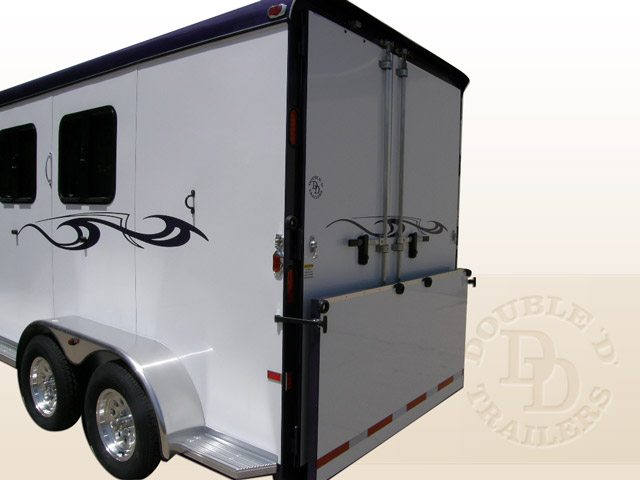 Safetack Two (2) Horse Gooseneck Trailer 9089-025