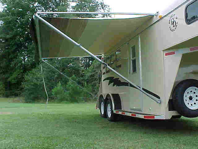 trailer side american cargo pros concession awning options