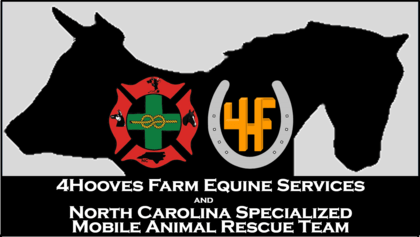 4Hooves Farm Equine Services and North Carolina Specialized Mobile Animal Rescue Team