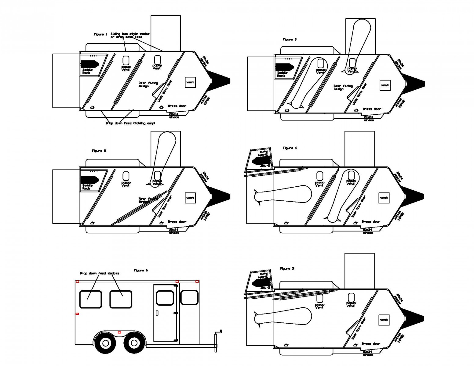 Horse Trailer Parts Diagram Great Installation Of Wiring Livestock U S Patent Awarded To Double D Trailers For Innovative Safetack Rh Doubledtrailers Com Light Plug