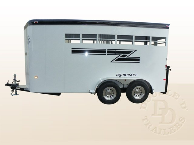 2 Horse Slant Load Trailer 005
