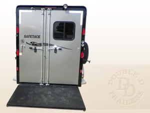 easy to lift horse trailer ramp