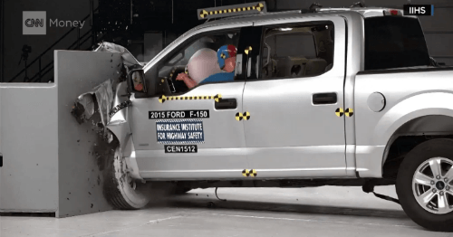 poor crash test results for all aluminum ford trucks more evidence that aluminum horse trailers are unsafe
