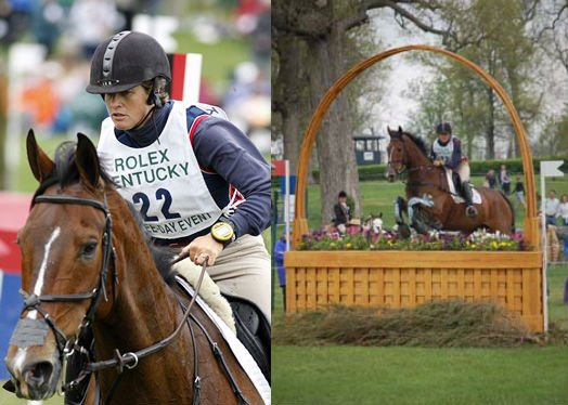 Missy Ransehousen competing at Rolex with her horse Critical Decision.