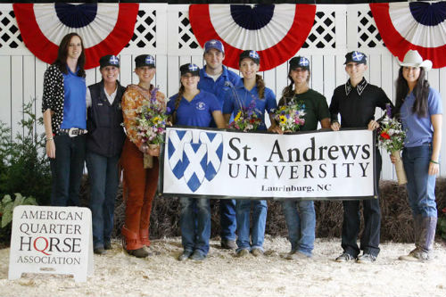 St.Andrews University Western Team