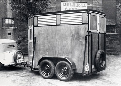 German Horse Trailer