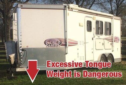 horse trailer tongue weight