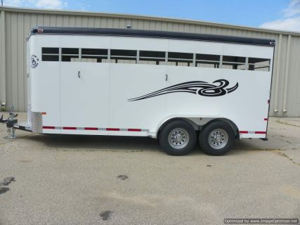 Double D Trailer Stock Horse Trailer