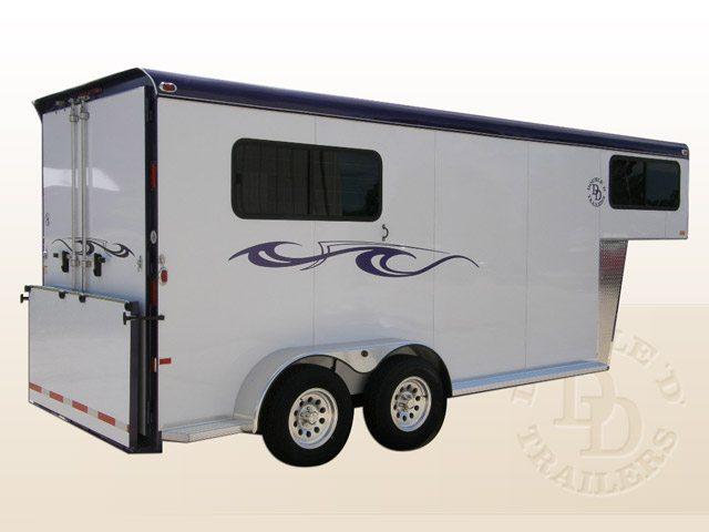 Safetack Two (2) Horse Gooseneck Trailer 006