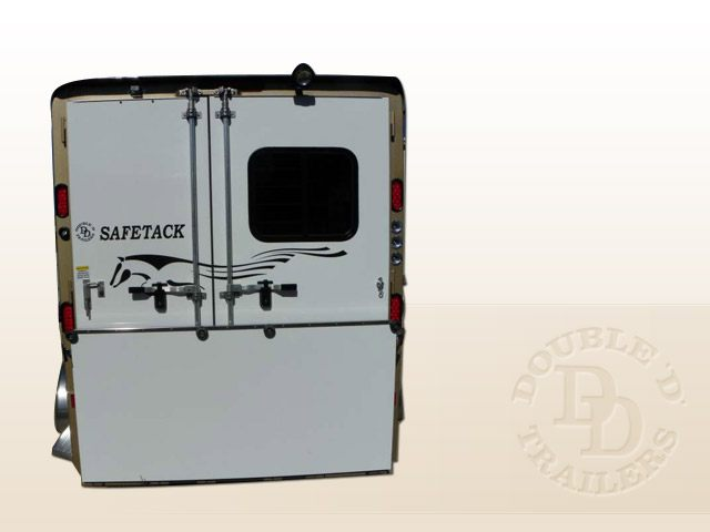 Safetack Two (2) Horse Gooseneck Trailer 034