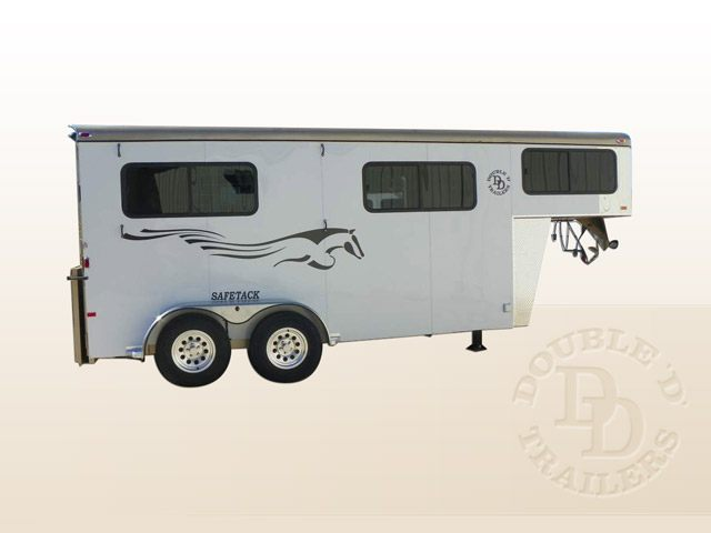 Safetack Two 2 Horse Gooseneck Trailer 052