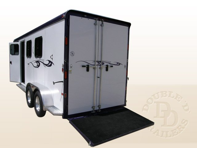 Safetack Two (2) Horse Gooseneck Trailer 9089-026