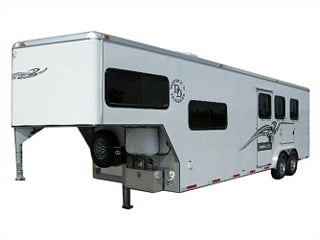Rawhide EX Living Quarters Horse Trailers