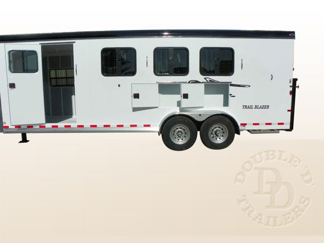 2 Horse Trailer With Living Quarters 9737 014