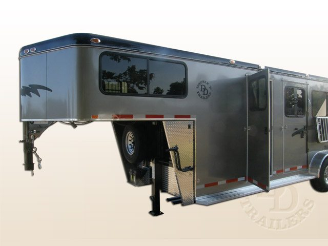 2 Horse Trailer With Living Quarters 9253 Gooseneck 005