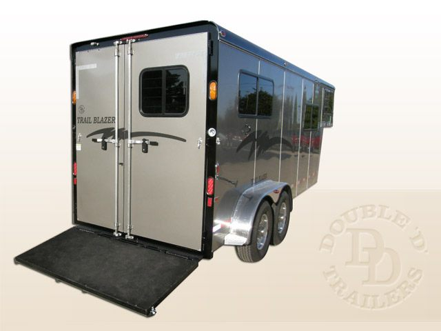 2 Horse Trailer With Living Quarters 9253 Gooseneck 027