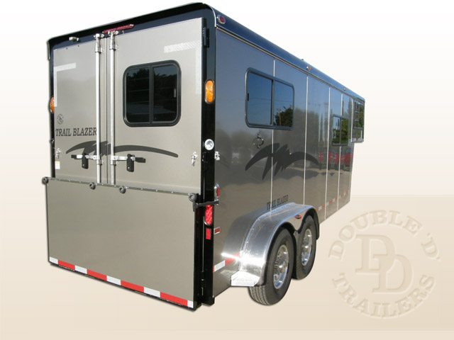 2 Horse Trailer With Living Quarters 9253 Gooseneck 028