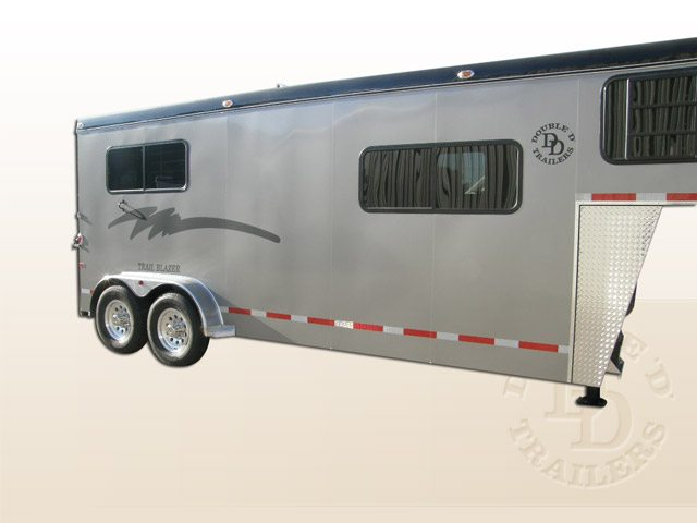 2 Horse Trailer With Living Quarters 9253 Gooseneck 030