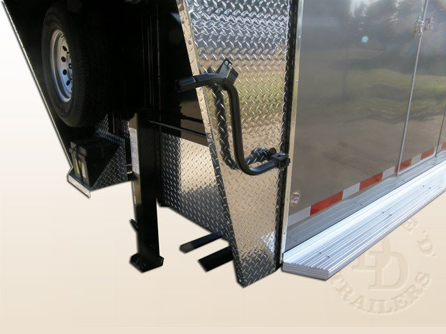 2 Horse Trailer With Living Quarters 9253 Gooseneck 038