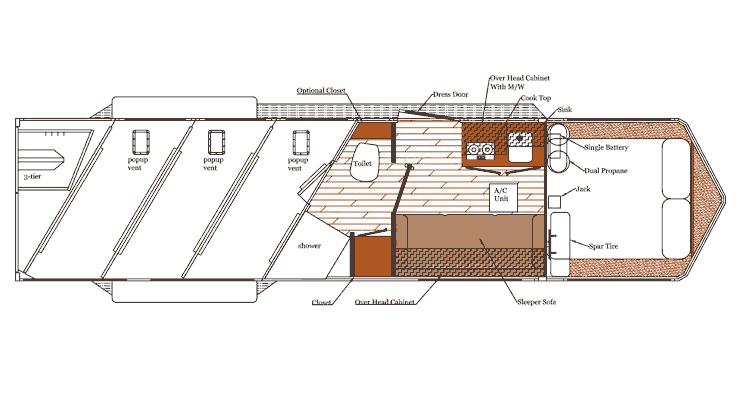 Available Floorplans - horse trailer floor plans - inverboL.com